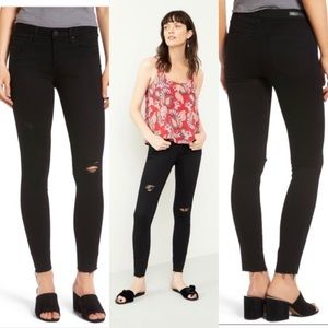Article of Society Sz 25 Black Skinny Jeans
